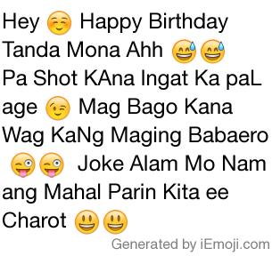Copy Paste Original Emoji Text Hey Happy Birthday